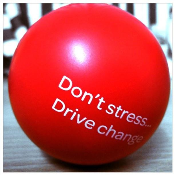 A stresszlabda oldja a feszültsége