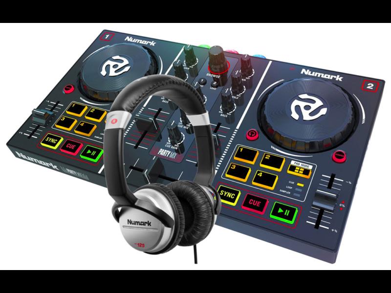 A zenéléshez szükséges a DJ kontroller