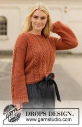 Gyönyörű kötésminták pulóver elkészítéséhez