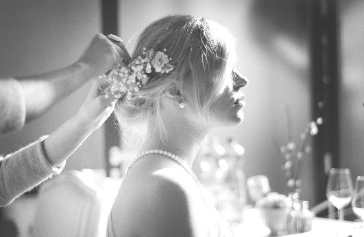 A sminkes esküvőre próbasminkkel készül
